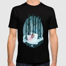 Rey vs. Kylo Ren Isometric Poster T-shirt