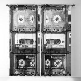 Something Nostalgic - black and white #decor #buyart #society6 Blackout Curtain