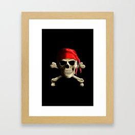 The Jolly Roger Framed Art Print