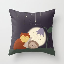 Goodnight Friends Throw Pillow
