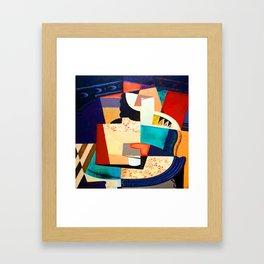 Maria Blanchard Seated Woman Framed Art Print