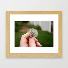 wishing Framed Art Print