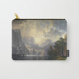 Among the Sierra Nevada California by Albert Bierstadt, 1868 Carry-All Pouch