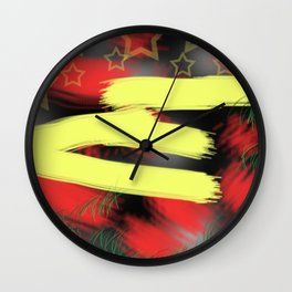 E is for...... Wall Clock