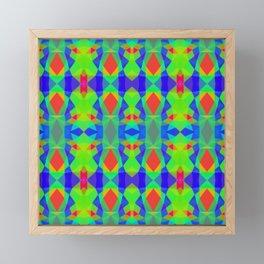 Rainbow Pattern Framed Mini Art Print