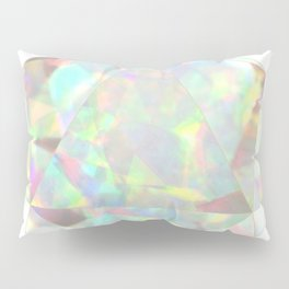 Milky White Opal Pillow Sham