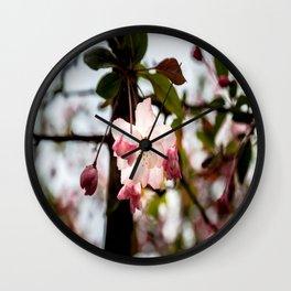 My Fair Blossom Wall Clock