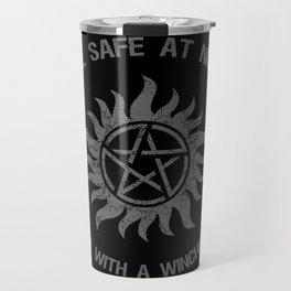 SPN Sleep With A Winchester Travel Mug