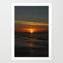 Fraser Sunset Art Print