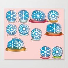 Snowglobes Canvas Print