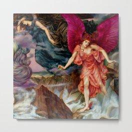 """Evelyn De Morgan """"The Storm Spirits"""" Metal Print"""