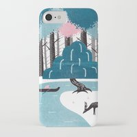river iPhone & iPod Cases featuring River by James White