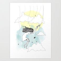 Hang On Art Print
