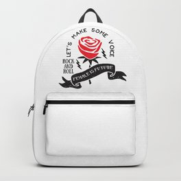Rock and roll girls Backpack