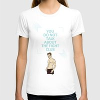 tyler durden T-shirts featuring F. C. - Tyler Durden Quote by V.L4B
