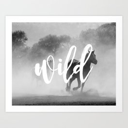 MANTRA SERIES: Wild Art Print