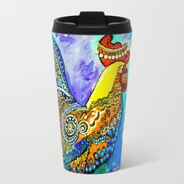 Crazy Chicken Travel Mug
