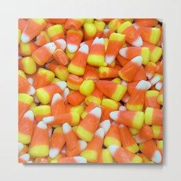 Candy Corn Metal Print