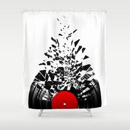 Vinyl Shatter Shower Curtain