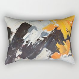 December Lights Rectangular Pillow