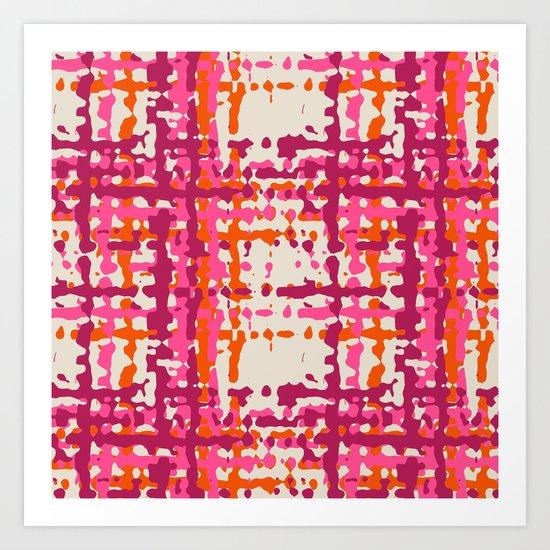 hot weave Art Print