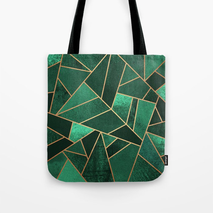 Emerald and Copper Umhängetasche