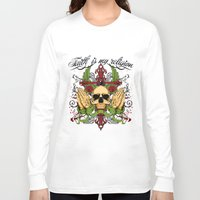 religion Long Sleeve T-shirts featuring Faith is my religion by Tshirt-Factory