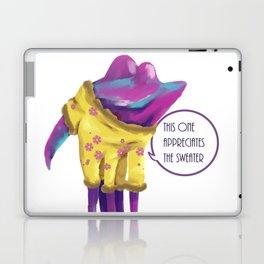 Hanar in a sweater Laptop & iPad Skin