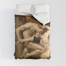 Dante and Virgil in Hell by William-Adolphe Bouguereau Comforters