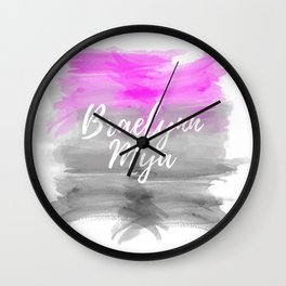 Braelynn Mya Wall Clock