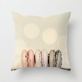 macarons ... 3 Throw Pillow
