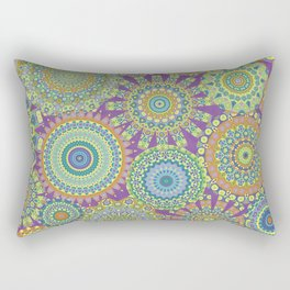 Millefiori Karma-Jardin colorway Rectangular Pillow