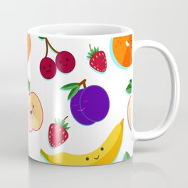 happy fruits and berries Coffee Mug