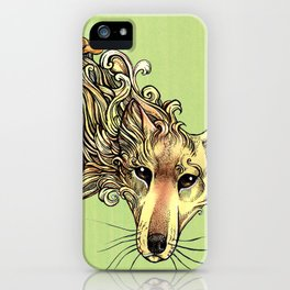 A Phantom in the Wilderness - The Thylacine iPhone Case