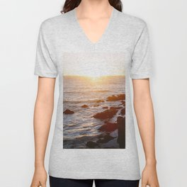 Cambria, California Unisex V-Neck