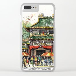 Chinese Temple on Waterloo Street, Singapore Clear iPhone Case