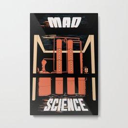 Mad Science Metal Print