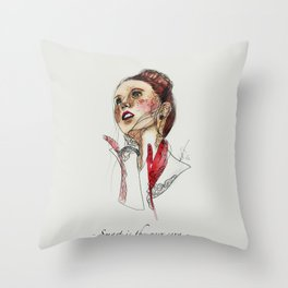 Smart is the new sexy Throw Pillow