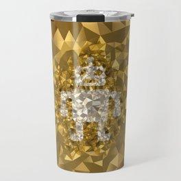 POLYNOID Robot / Gold Edition Travel Mug