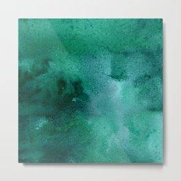turquoise haze Metal Print