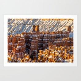 Sunset Point 0010 - Bryce_Canyon_Natonal_Park, Utah Art Print