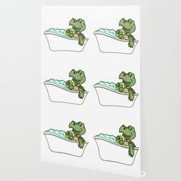 Bathtub turtle Wallpaper