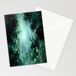 Orion neBUla. : Green Stationery Cards