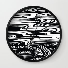 State Of The Climate Landscape Wall Clock