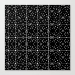 Intersected lines Canvas Print