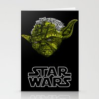 yoda Stationery Cards featuring Yoda by Stormega