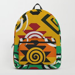 Geometric festival Backpack