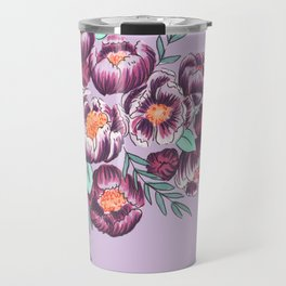 Lavender purple garden Travel Mug