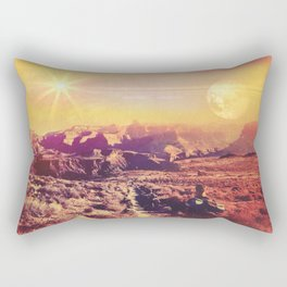 Globetrotter Rectangular Pillow