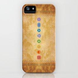 Chakras Kali | Beyond the time  iPhone Case